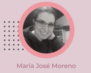 Imagen presentación de María José Moreno